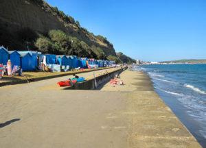 Sunny summer beach