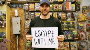 Captain America Loves Escape Rooms