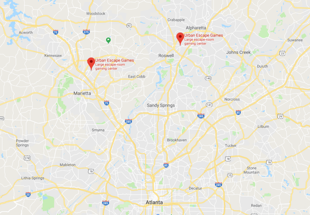 Escape Room Atlanta Locations